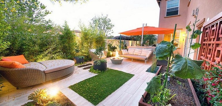 Ideas to decorate your garden without so much complication