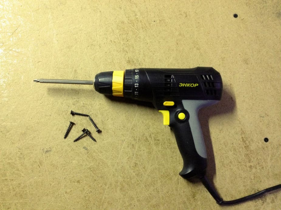 Tips for using an electric drill