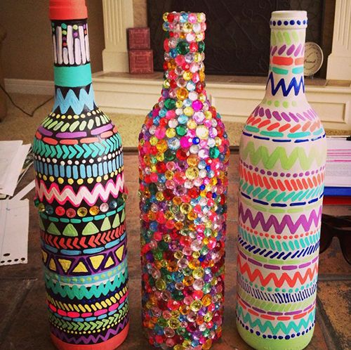 Recycle bottles creatively