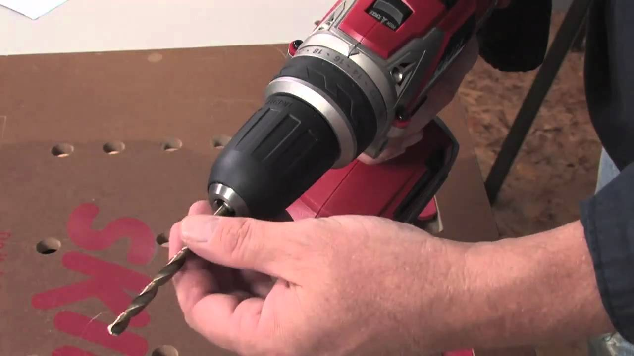 How to use an electric drill