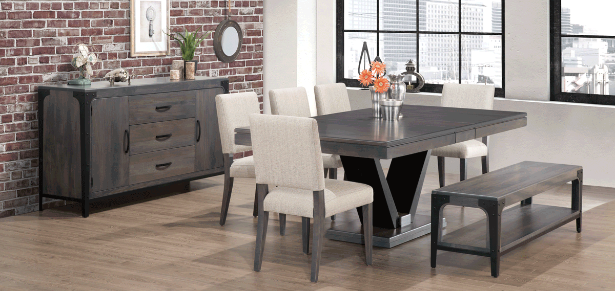 don't fill your dining space