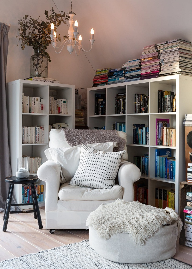 A little corner for reading