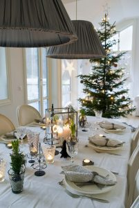 Nordic style dining room