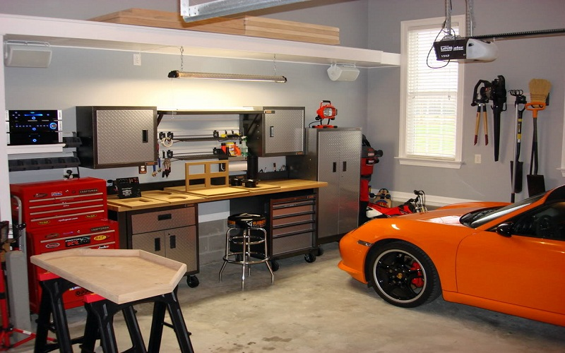 best decorate a garage idea
