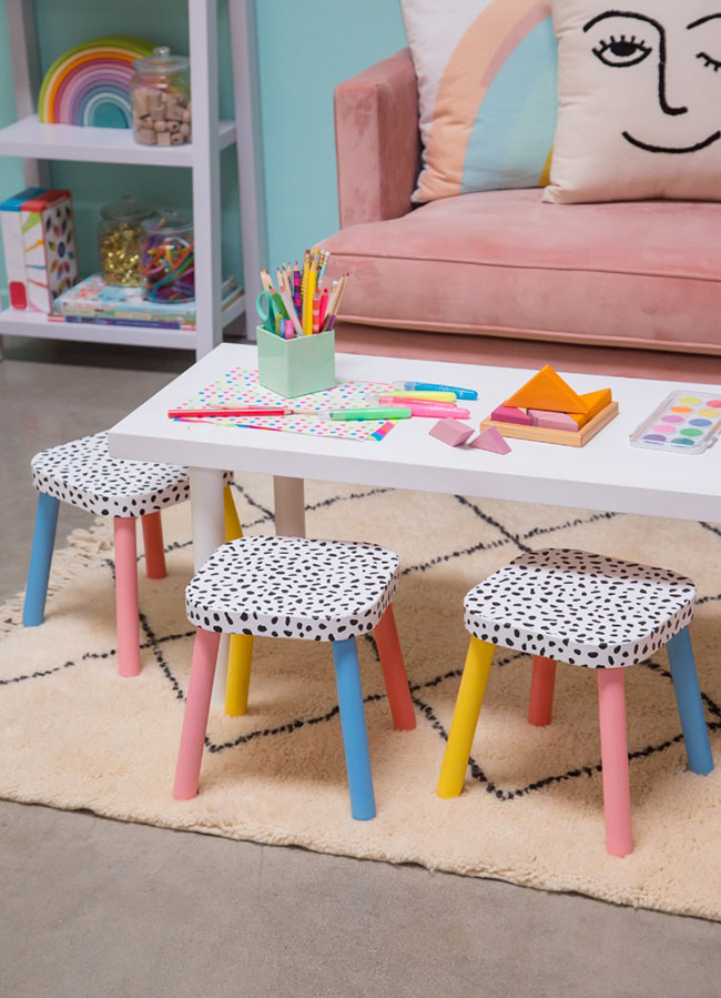 DIY stool ideas