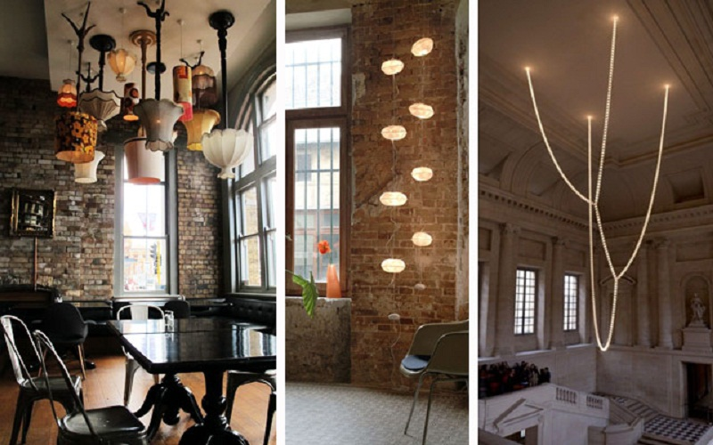 DECORATE WITH HANGING LAMPS