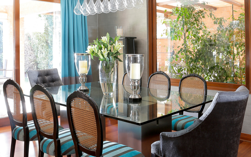 Decoration of dining rooms