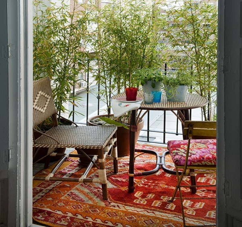the small balcony ideas