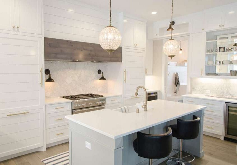 styles for white kitchens