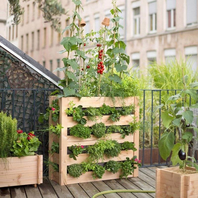 Resultado de imagen de urban gardening balcony