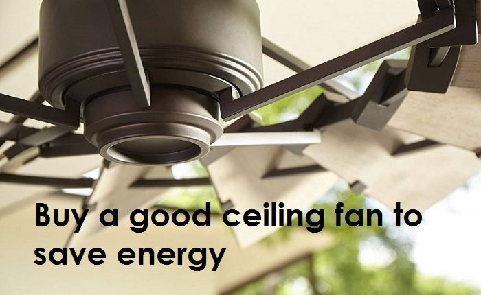 how to buy a good ceiling fan