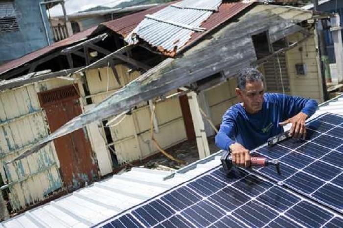 Restored solar panels