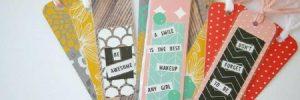 handmade bookmark ideas