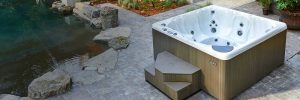 Where to put a hot tub